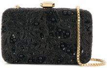 Elie Saab - Borsa Clutch - women - Leather/Polyester - OS - Nero