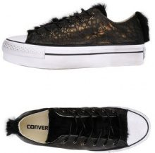 CONVERSE LIMITED EDITION AS OX PLATFORM CANVAS/LEATHER - CALZATURE - Sneakers & Tennis shoes basse - su YOOX.com