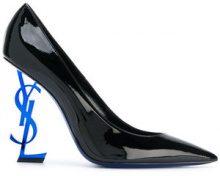 Saint Laurent - Opyum 110 pumps - women - Patent Leather/Leather - 35.5, 36, 36.5, 37, 37.5, 35, 38, 39 - Nero