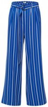 SELECTED Wide - Striped - Trousers Women Blue