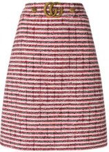 Gucci - bouclé-tweed skirt - women - Cotone/Wool/Polyamide/Silk - 40, 42, 44 - RED