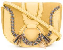 See By Chloé - Hana mini sathchel bag - women - Leather/Suede - OS - YELLOW & ORANGE