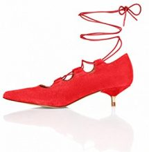 FIND Scarpe con Tacco Donna, Rosso (Red), 36 EU