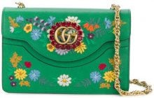 Gucci - Borsa a spalla 'GG' - women - Leather - OS - GREEN
