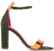 Oscar Tiye - Sandali con tacco - women - Leather/Suede/rubber - 35, 38, 40, 41 - Verde