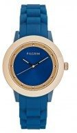 Pilgrim Orologio rose goldcoloured/blue