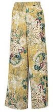 Amber Floral Print Wide Leg Trouser