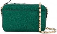 Red Valentino - textured shoulder bag - women - Leather - One Size - GREEN