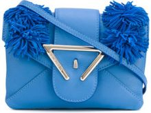 Sara Battaglia - Borsa a tracolla 'Roxy' - women - Calf Leather - OS - BLUE