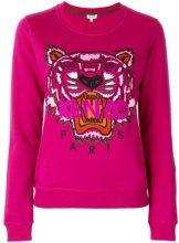 - Kenzo - Felpa 'Tiger' - women - fibra sintetica/cotone - S - di colore rosa