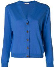 Tory Burch - Cardigan - women - Cotton - S, M, L - BLUE