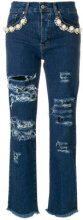 Forte Dei Marmi Couture - Jeans strappati - women - Cotone/Spandex/Elastane - 26, 27, 25, 29 - BLUE