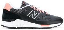 - New Balance - Sneakers '840' - women - gomma/fibra sintetica/pelle - 10, 5.5, 6, 6.5 - di colore nero