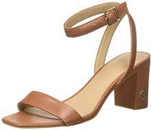 Guess Footwear Dress, Sandali con Cinturino alla Caviglia Donna, Marrone (Medium Brown), 37 EU
