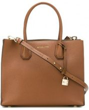 Michael Michael Kors - large Mercer tote - women - Leather - OS - BROWN