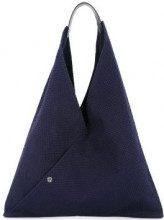 Cabas - triangle tote - women - Cotton - OS - BLUE