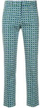 Max Mara - Pantaloni crop - women - Cotton/Spandex/Elastane - 40 - GREEN
