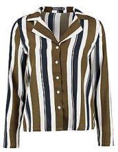 Petite Kimmy Stripe Pyjama Style Co-Ord Shirt