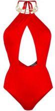 Moeva - Costume intero 'Alyssa' - women - Polyamide/Spandex/Elastane - XS, M, L - Rosso