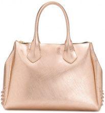 Gum - large stud detailed tote bag - women - PVC - OS - METALLIC