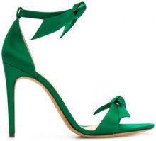 Alexandre Birman - Sandali 'Clarita Nappa' - women - Leather/Silk - 37, 39, 39.5 - GREEN