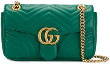 Gucci - Borsa a spalla 'GG Marmont' - women - Leather - OS - GREEN