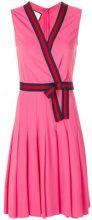 Gucci - Vestito con dettaglio Web - women - Spandex/Elastane/Viscose - XS, M, L, S - PINK & PURPLE