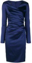 Talbot Runhof - Vestito 'Note8' - women - Acetate/Polyamide/Spandex/Elastane/Polyester - 34, 36, 44, 46 - BLUE