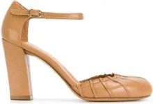 Chie Mihara - Grisa pumps - women - Leather/rubber - 35.5, 36, 36.5, 37, 40, 40.5 - NUDE & NEUTRALS