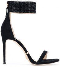 - Gianni Renzi - Sandali con cinturino alla caviglia - women - Leather/Suede - 37, 38, 36, 39 - Nero