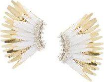 Mignonne Gavigan - wings earrings - women - Acetate - OS - WHITE