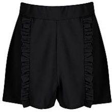 Cass Ruffle Front Stretch Shorts