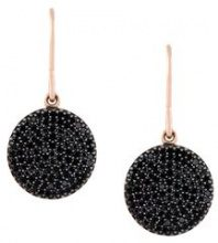 Astley Clarke - Orecchini pendenti 'Icon' con diamanti - women - Black Diamond/14kt Rose Gold - OS - BLACK