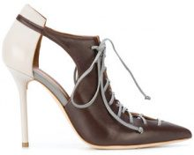 Malone Souliers - Pumps 'Montana' - women - Nappa Leather/Leather - 35, 35.5, 36, 36.5, 37 - BROWN