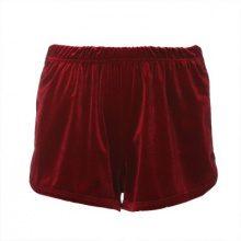 Pantaloncini effetto velluto