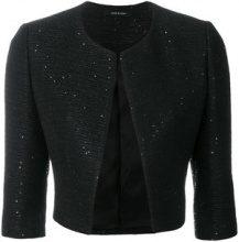 Tagliatore - Giacca crop - women - Cotton/Viscose/Polyester/Acrylic - 40, 42, 44, 46, 48 - BLACK
