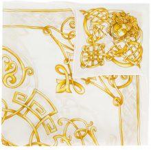 Versace - Foulard 'Medusa' - women - Silk - OS - WHITE