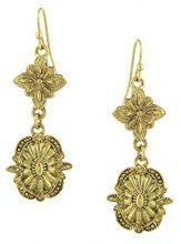 1928 Jewelry-Orecchini in oro, tonalità Orecchini pendenti