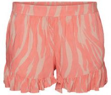 JUNAROSE Patterned Shorts Women Red