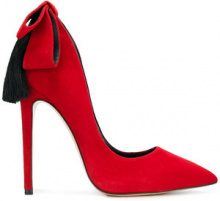 Aleksander Siradekian - Pumps con tacco alto - women - Suede/Leather - 36, 37, 38, 39, 40, 41 - RED