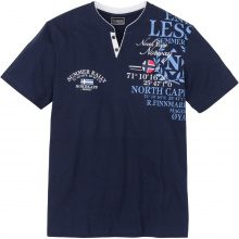 T-shirt regular fit (Blu) - bpc selection
