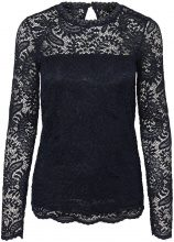 VERO MODA Lace Long Sleeved Blouse Women Blue