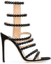 Sergio Rossi - Sandali con zip e borchie - women - Leather/Suede - 36, 36.5, 37.5, 38, 39 - BLACK