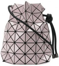 Bao Bao Issey Miyake - Bao Bao drawstring clutch bag - women - Nylon/Polyester/Brass/PVC - OS - PINK & PURPLE