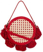 Mehry Mu - Red Tambourine Suede bamboo cross body bag - women - Suede/Bamboo - OS - RED