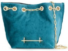 M2malletier - Borsa a secchiello - women - Polyester/Calf Leather - OS - Blu