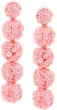 Sachin & Babi - Fleur Bouquet earrings - women - Sequin - One Size - PINK & PURPLE