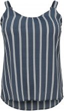 ONLY Curvy Striped Sleeveless Top Women Blue