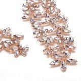 Collana da Donna Girocollo con Diamante Cristallo Aperto Plastron Regalo