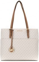 Michael Michael Kors - Bedford large pocket tote - women - Cotton/Polyester/PVC - OS - NUDE & NEUTRALS